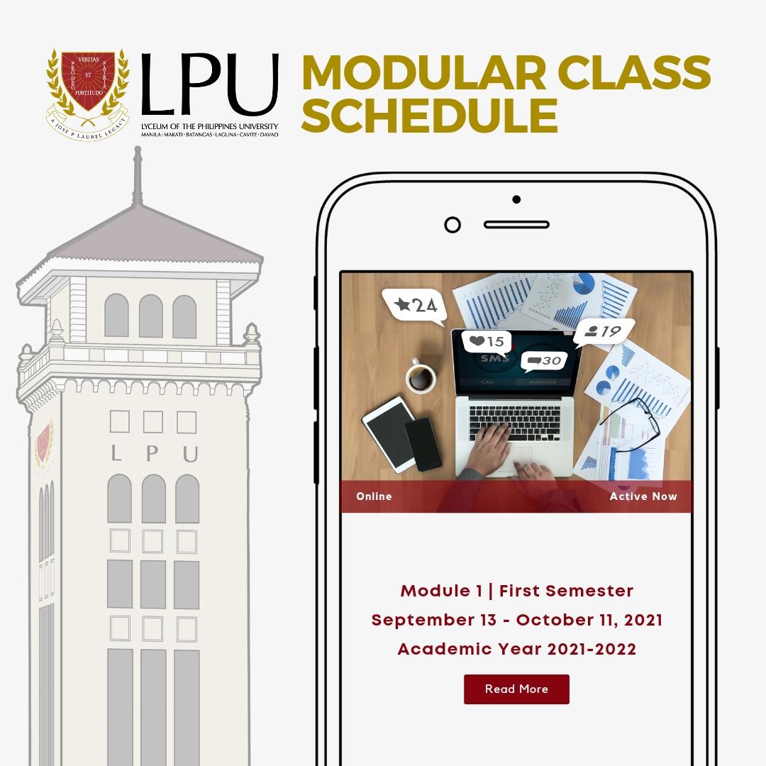 Modular Class Schedule