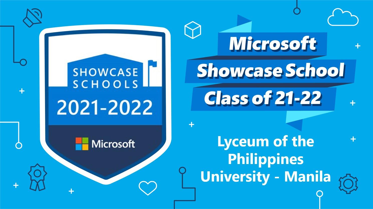 LPU is a Microsoft Showcase School for 6 Consecutive Years